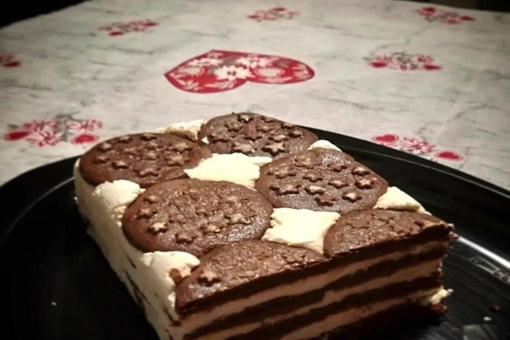 Cheesecake torta pan di stelle