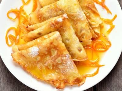 Classiche ma d'effetto,  le crêpes suzette flambè vi faranno sognare!
