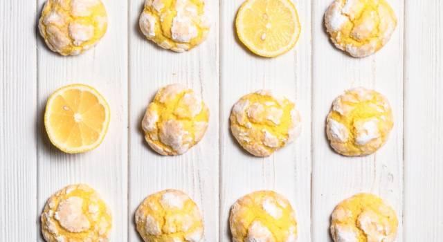Come fare i biscotti morbidi al limone? Ecco la ricetta!