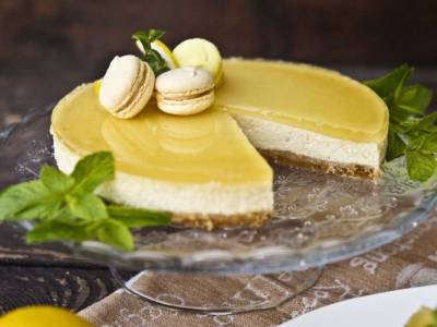 Il dolce freddo più buono? La cheesecake al limone, ovviamente!