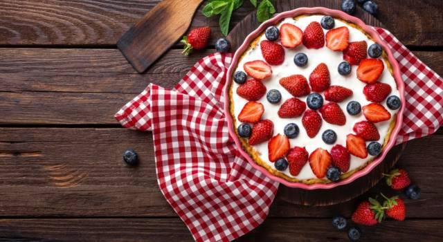 Torte facili? Vi proponiamo la cheesecake allo yogurt, buona e sana!