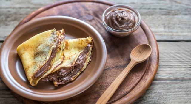Sono le preferite da grandi e piccini: come preparare le crêpes alla Nutella!