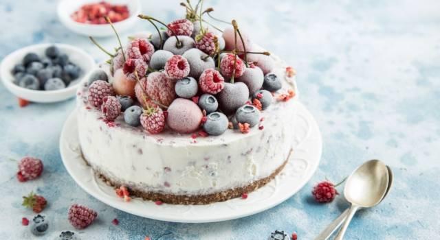 Torte fredde da fare all'ultimo secondo? La torta gelato vi stupirà!