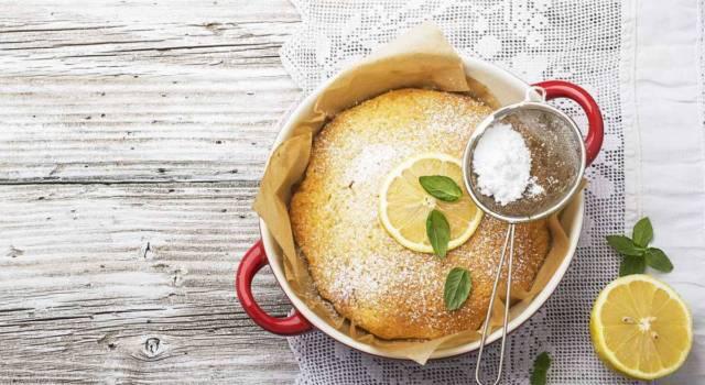 Lo sentite il profumo del buongiorno? È la torta margherita!