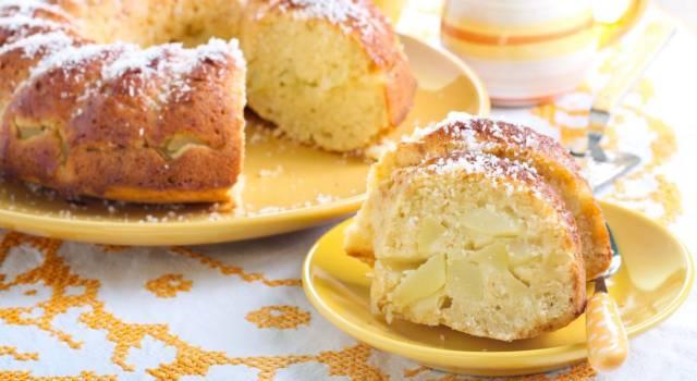 Ciambellone alle mele: un dolce sempre buono!