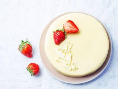 Cheesecake al cioccolato bianco: una vera bomba!