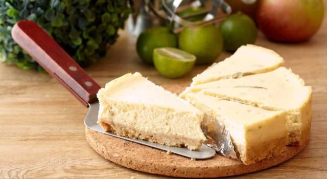 Torta formaggio e latte condensato, un dolce veloce e buonissimo!