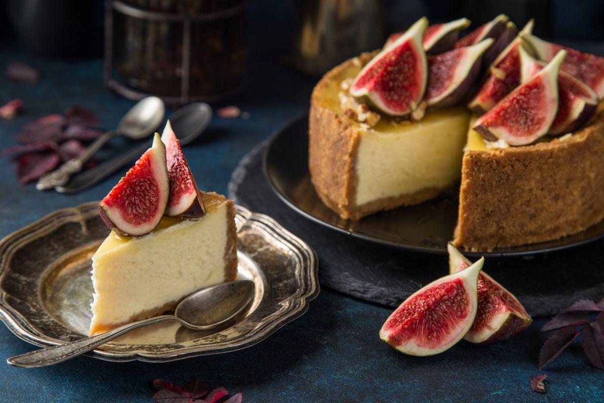 Cheesecake ai fichi: un'idea per le vostre torte facili ed estive!