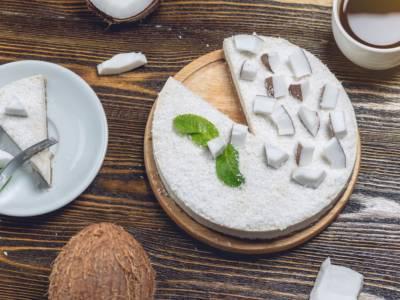 Cheesecake al cocco: senza cottura e golosissima!