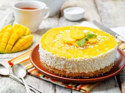 Cheesecake al mango: buona da impazzire