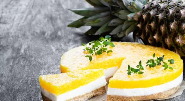 Cheesecake tropicale: fresca ed estiva, pronta in 10 minuti!