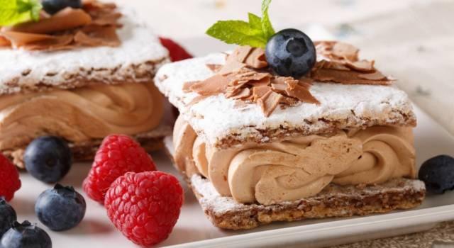 Non si può proprio dir di no alla torta millefoglie al cioccolato: ecco la ricetta!