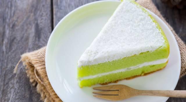 Golosissima e super profumata: è la torta menta e cocco!