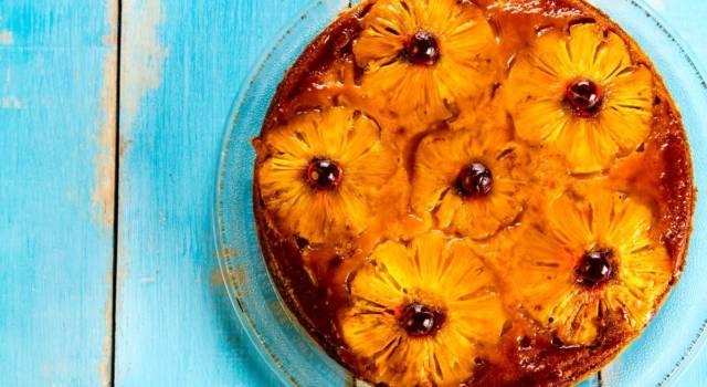 Torta rovesciata all'ananas: la ricetta del dolce scenografico e golosissima!