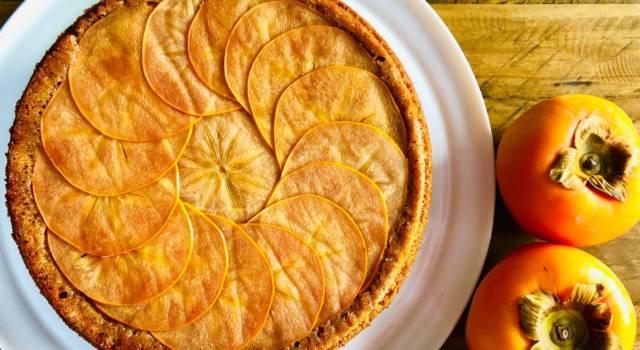 Crostata di cachi: una super ricetta dal profumo d'autunno!