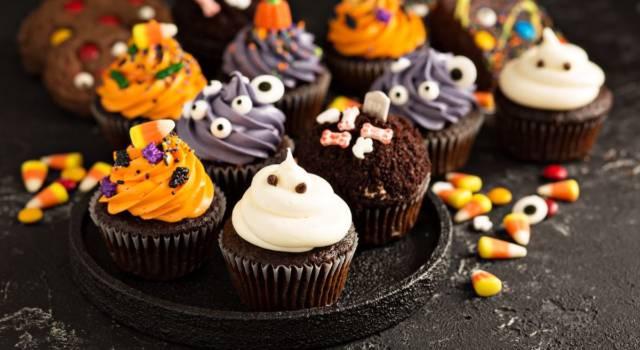 Cupcake di Halloween: dei buonissimi dolcetti per la festa più paurosa dell'anno!