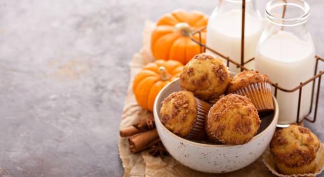 Muffin alla zucca: dei perfetti dolcetti autunnali!