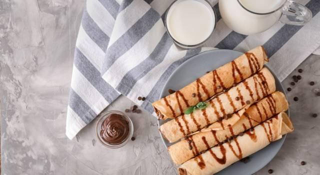 Palacinke farcite con Nutella: un'imperdibile ricetta dolce!