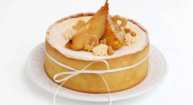 Buonissima e super golosa: è la torta con ricotta e pere!