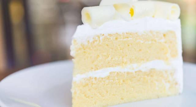 Che buona la torta al cioccolato bianco! Prepariamola insieme