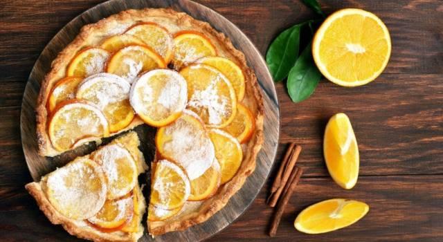 Profumata, deliziosa e facilissima: prepariamo la crostata all'arancia!