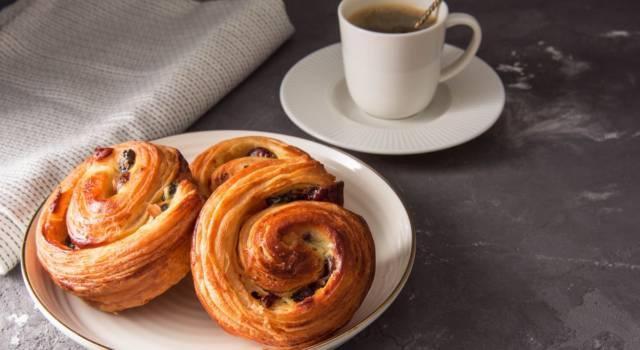 Pain aux raisin: un dolce davvero invitante!