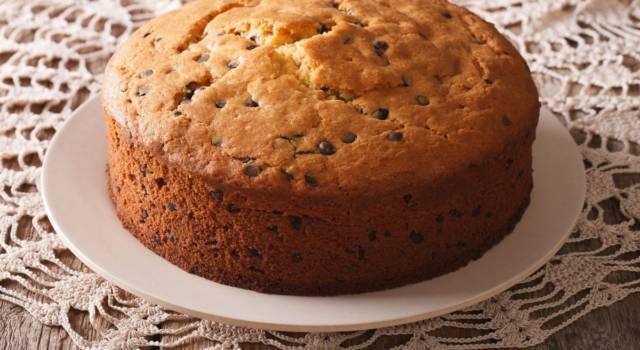 Facile e super golosa: è la torta ricotta e cioccolato!
