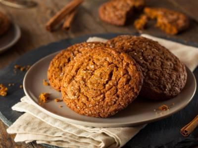 Profumati, facili e perfetti in ogni momento: sono i biscotti allo zenzero!