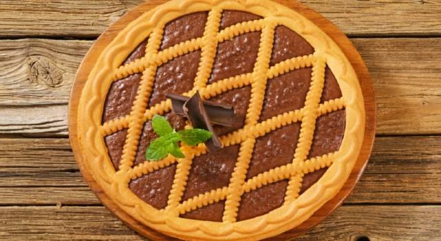 Che cosa cuciniamo oggi? Facciamo la crostata al cioccolato!