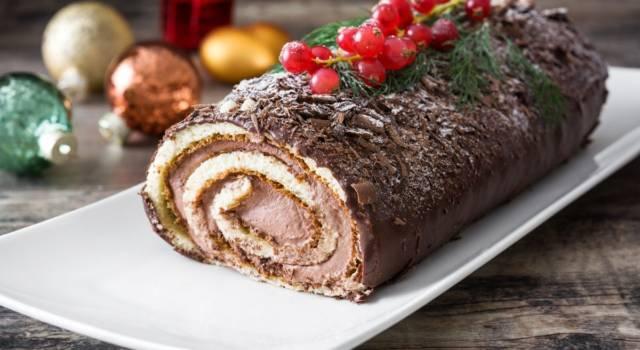 Non è festa senza il tronchetto di Natale: ecco la ricetta passo per passo!