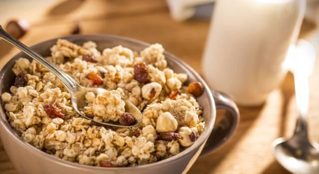Un'idea per rendere le vostre colazioni ancora più buone: provate la granola!