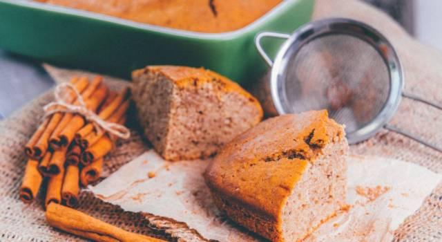 Idee per la colazione? La ricetta giusta è quella della torta alla cannella!