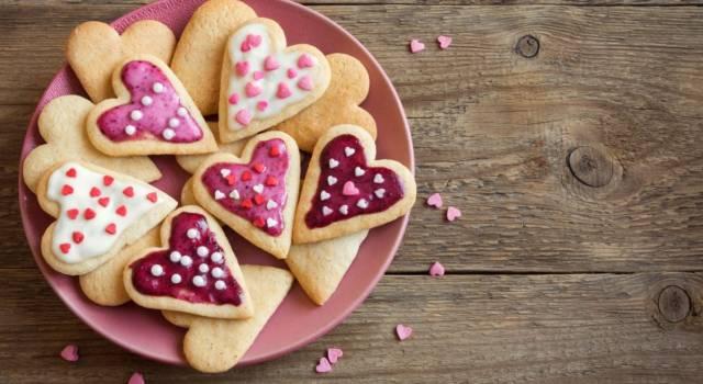 Biscotti a forma di cuore: per il vostro indimenticabile San Valentino