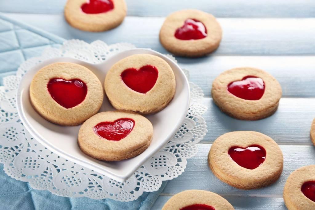 biscotti sablé di san valentino