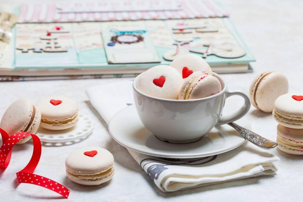 macaron di san valentino