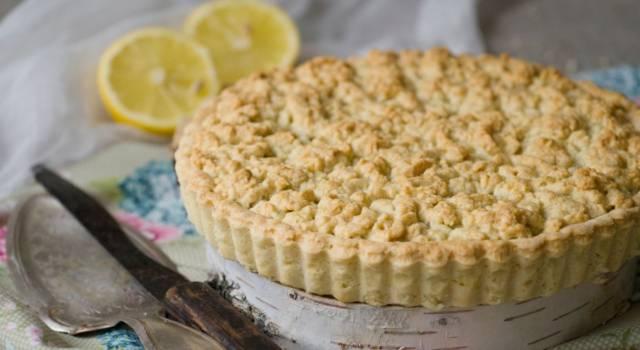 Sbriciolata al limone: una delizia per chi ama gli agrumi!