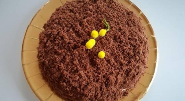 Torta mimosa al cioccolato: rivisitiamo uno dei dolci simbolo della festa della donna
