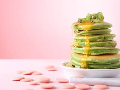 Buonissimi e facili da fare: sono i pancake ai kiwi!