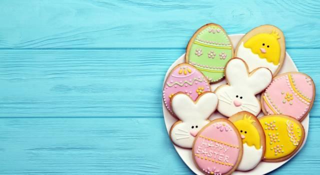 Biscotti di Pasqua decorati: perfetti da fare anche con i bimbi