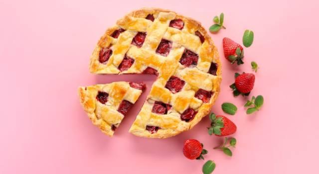 Crostata di fragole: un ottimo dessert primaverile