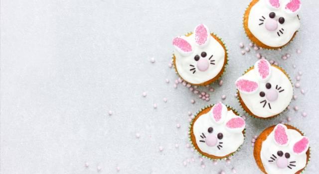 Cupcake a forma di coniglietto: un simpatico dolcetto per la Pasqua