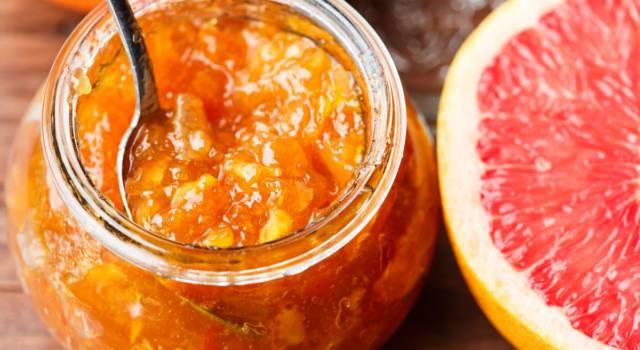 Marmellata di pompelmo: la conserva di casa perfetta per chi ama gli agrumi
