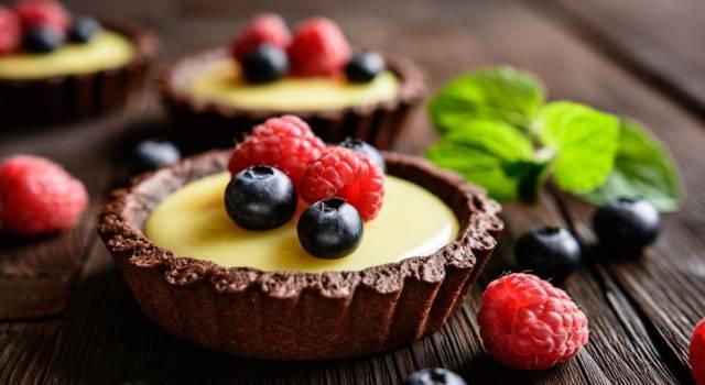 Quanto è buona la pasta frolla al cacao: ingredienti e ricetta