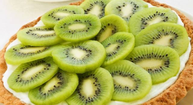 Torta di kiwi: una delizia per gli occhi e per il palato