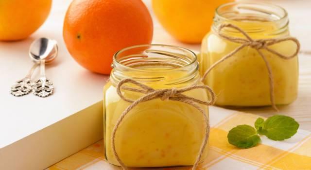 Facile da fare e super golosa: è la crema inglese all'arancia!