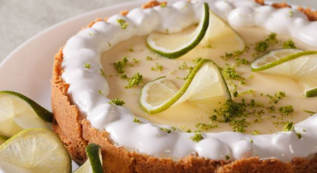 Prepariamo la key lime pie, un dolce fresco e profumato!