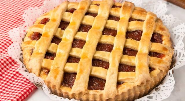 Crostata di castagne: un dolce rustico dal sapore inconfondibile