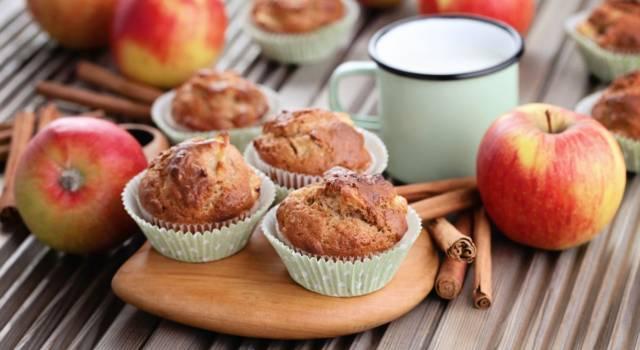 Muffin mele e cannella: così buoni e profumati che andranno a ruba!
