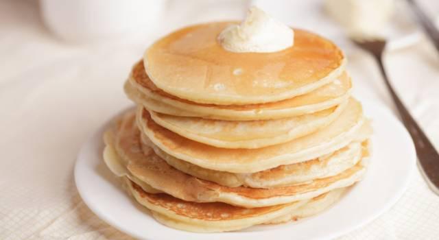 Pancakes senza burro? Sono buoni e più sani!