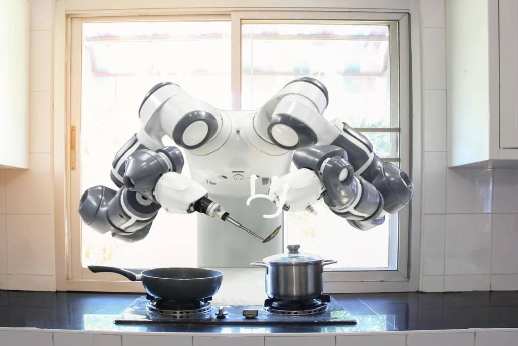 Robot in cucina